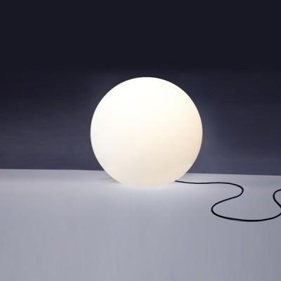 Στεγανή μπάλα δαπέδου Ø60cm με μαύρο καλώδιο 3m