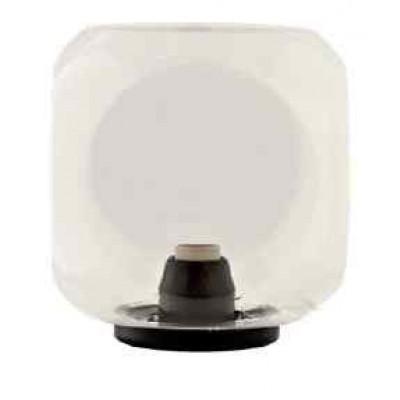 Στεγανό φωτιστικό δαπέδου 35cm με κύβο Φ27cm