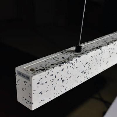 Κρεμαστό φωτιστικό LED λευκό μωσαικό 61cm
