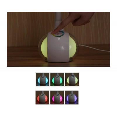 Ευλύγιστο φωτιστικό γραφείου αφής LED με εναλλαγή χρώματος φωτισμού