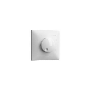 Dimmer απλό χωνευτό 600W λευκό για strip131