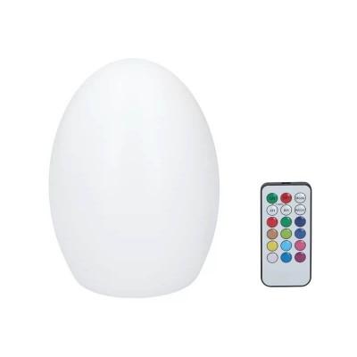 Πλαστικό φωτιστικό LED RGB επαναφορτιζόμενο seaside 24x17cm