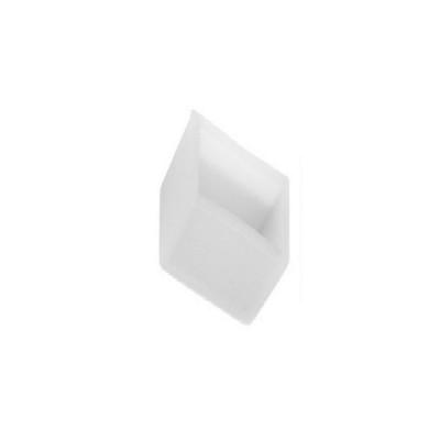 Τερματική τάπα PVC διάφανη για μονόχρωμη ταινία strip130