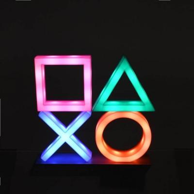 Επιτραπέζιο διακοσμητικό φωτιστικό LED Playstation 30x30cm