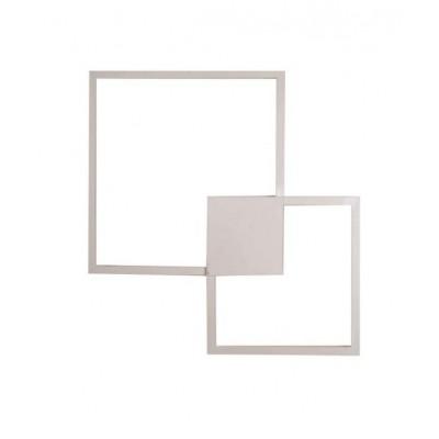 Φωτιστικό LED τετράγωνο 72x72cm τοίχου/οροφής
