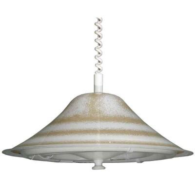 Kρεμαστό φωτιστικό φθορίου Ø48cm από plexiglass