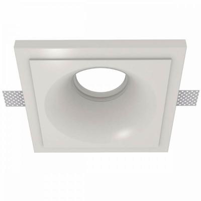 Χωνευτό σποτ οροφής γύψινο 13.5x13.5cm