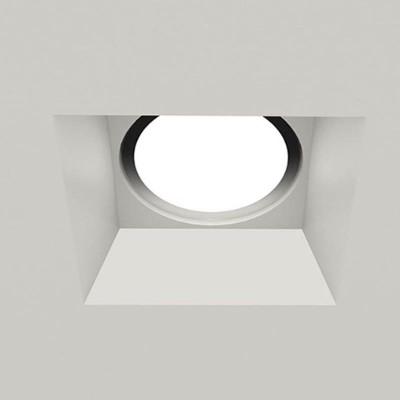 Χωνευτό γύψινο σποτ οροφής 20x20cm