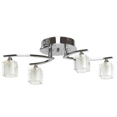 Φωτιστικό οροφής Ø50cm τετράφωτο G9 με LED στη βάση