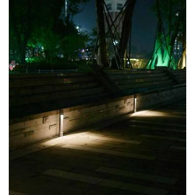 Κυλινδρικό κολωνάκι κήπου LED Ø9cm