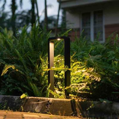 Ορθογώνιο κολωνάκι κήπου LED 60x16cm