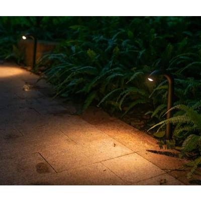Κολωνάκι κήπου LED με γυριστή κεφαλή