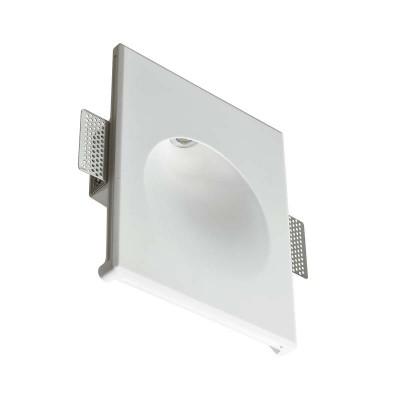 Γύψινο χωνευτό σποτ τοίχου 25x21cm LED