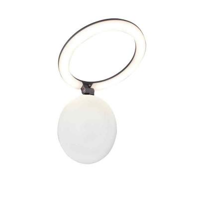 Στεγανή απλίκα LED Φ23cm με αναδιπλώμενη κεφαλή