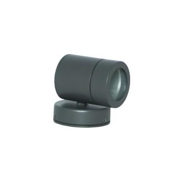 Στεγανή μονόφωτη απλίκα κυλινδράκι GU10 με 8x9cm