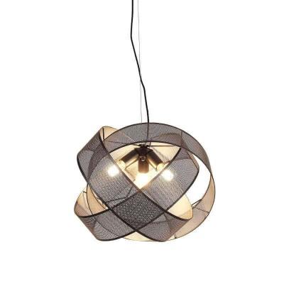 Τρίφωτο κρεμαστό φωτιστικό κορδέλα Ø52cm