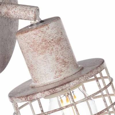 Τρίφωτο φωτιστικό οροφής σε vintage απόχρωση ACA