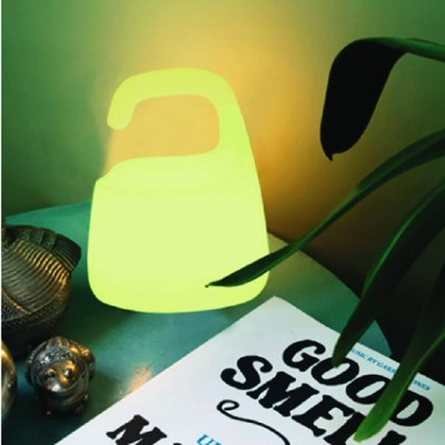 Πλαστικό πορτατίφ LED RGB επαναφορτιζόμενο στεγανό seaside 25x20cm
