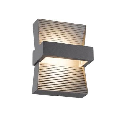 Συμμετρική απλίκα LED εξωτερικού χώρου