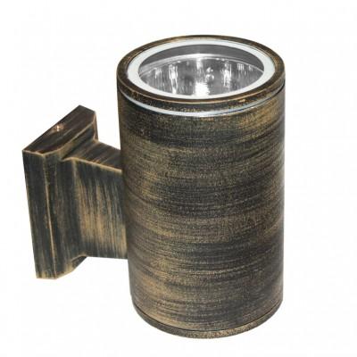 Κυλινδρικό σποτ τοίχου Ø11cm ύψους 17cm από αλουμίνιο