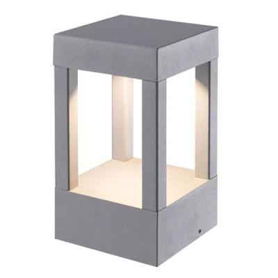 Στεγανό φωτιστικό δαπέδου LED διάχυτου φωτισμού 11x11x20cm