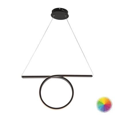 Κρεμαστό LED φωτιστικό μήκους 64cm με κύκλο