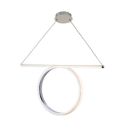 Κρεμαστό LED φωτιστικό μήκους 88cm με κύκλο