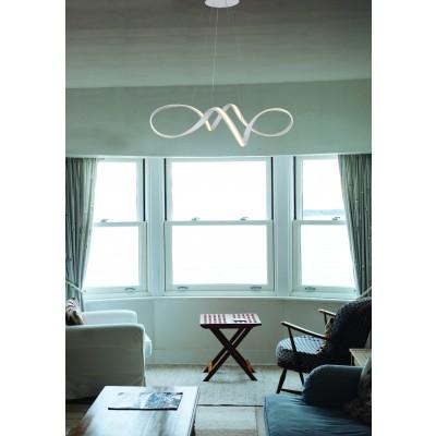 Ελικοειδές κρεμαστό φωτιστικό LED