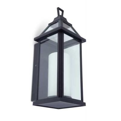 Μεταλλικό φανάρι τοίχου εξωτερικού χώρου LED