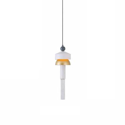 Κρεμαστό LED dimmable Ø15cm χρυσό-λευκό-γκρι