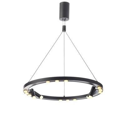 Φωτιστικό LED Ø65cm με 4 περιστρεφόμενα σποτάκια