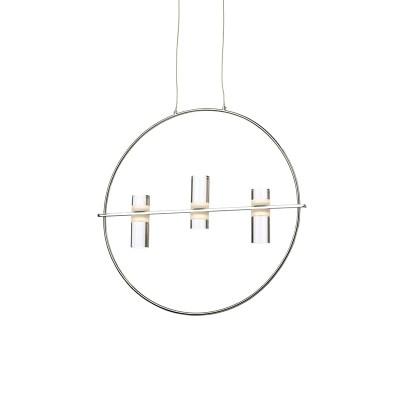 Κρεμαστό με δαχτυλίδι Ø53cm και ακρυλικές κεφαλές με LEDs
