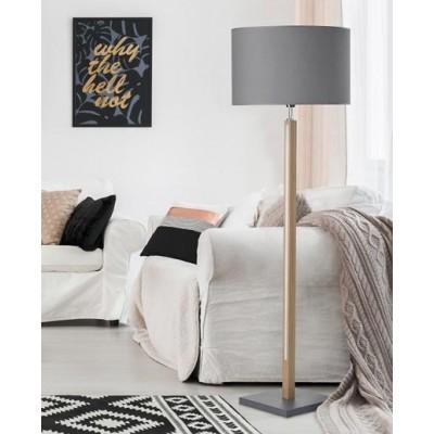 Φωτιστικό δαπέδου LED 160cm με αμπαζούρ Ø50cm