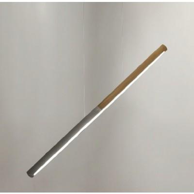 Γραμμικό κρεμαστό φωτιστικό LED 92cm δίχρωμο