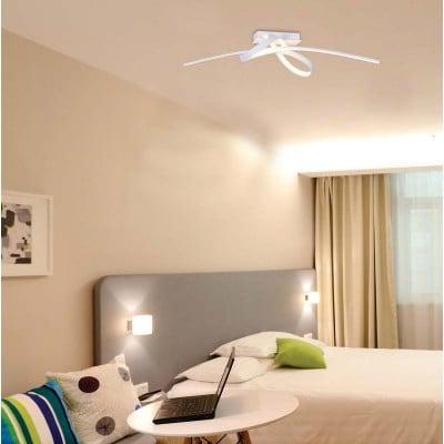 Φωτιστικό οροφής LED σε σχήμα φιόγκου 100cm