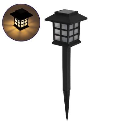 Ηλιακό φωτιστικό φανάρι 10x10cm LED 3000Κ - σετ 2 τμχ