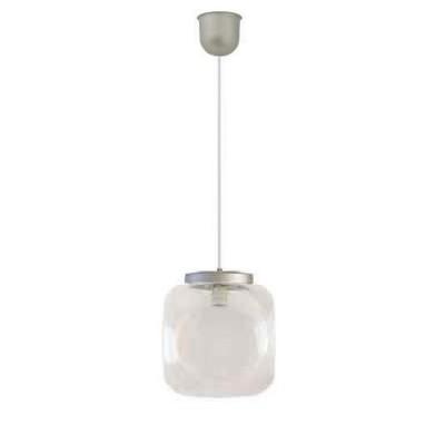 Στεγανό κρεμαστό φωτιστικό Φ32cm κύβος με PVC καλώδιο