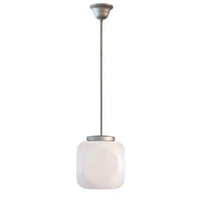Στεγανό κρεμαστό φωτιστικό κύβος Φ32cm με ντίζα
