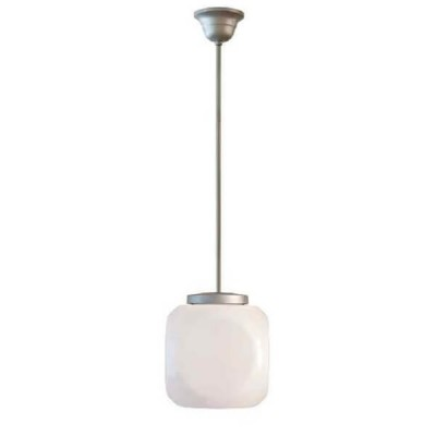 Στεγανό κρεμαστό φωτιστικό κύβος Φ42cm με ντίζα