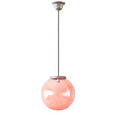 Κρεμαστό φωτιστικό με ντίζα χρωματιστή μπάλα Φ20cm