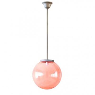 Κρεμαστό φωτιστικό με ντίζα χρωματιστή μπάλα Φ40cm