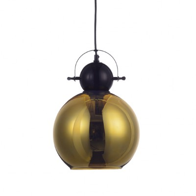 Γυάλινη χρυσαφί μπάλα Ø25cm ACA
