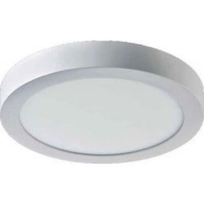 Πλαφονιέρα οροφής στρογγυλή Ø23cm με φως 3000Κ
