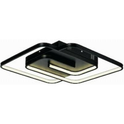 Φωτιστικό οροφής LED 45x45cm με τετράγωνα