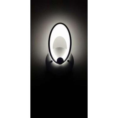 Απλίκα LED 27x14cm με οβάλ κεφαλή τριπλού φωτισμού