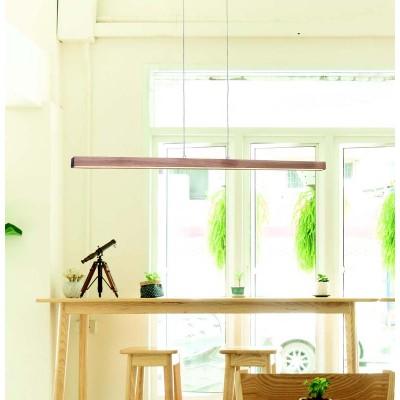 Ξύλινο γραμμικό φωτιστικό LED