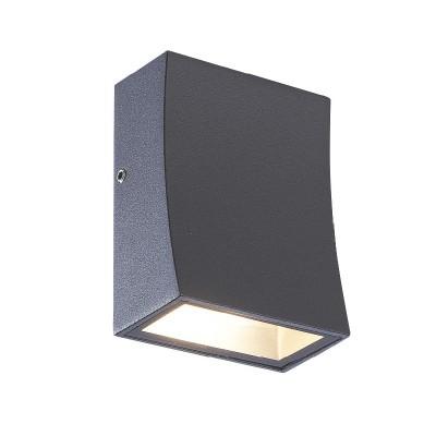 Απλίκα αλουμινίου LED Down με καμπύλη