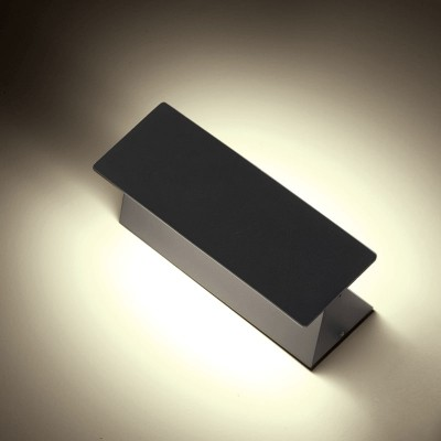 Στεγανή περιστρεφόμενη απλίκα 19cm LED
