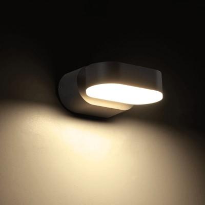 Στεγανή απλίκα LED 11cm με περιστρεφόμενη κεφαλή