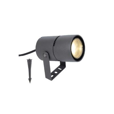 Στεγανό φωτιστικό εδάφους LED με extra καρφί